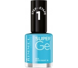 Rimmel London Super Gel lak na nehty 053 Dive Right In 12 ml