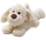 Albi Warm plush Dog lying brown 30 x 20 x 17 cm, 750 g
