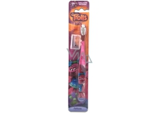 Trollové měkký zubní kartáček s krytem pro děti