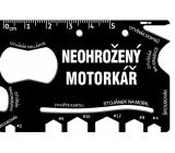 Albi Multinářadí do peněženky Neohrožený motořkář 8,5 cm x 5,3 cm x 0,2 cm
