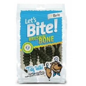 Brit Lets Bite Brushin Dental bone delicacy bottom food for dogs 90 g