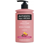 Authentic Toya Aroma Cranberries & Nectarinetekuté soap 400 ml dispenser