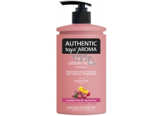 Authentic Toya Aroma Cranberries & Nectarine liquid soap dispenser 400 ml
