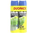 Gillette Mach 3 Sensitive shaving gel for sensitive skin 2 x 200 ml, duopack