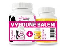 Nutricius Perfect HAIR 100 tbl. + Betacarotene EXTRA 15 mg 30 tbl.