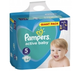 Pampers Giant Pack Active Baby Junior 5 11 - 16 kg disposable diapers 64 pieces