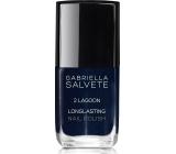 Gabriella Salvete Longlasting Enamel long-lasting nail polish with high gloss 02 Lagoon 11 ml