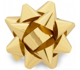 Nekupto Starfish Medium Metal Gold 6.5 cm HX 127 01