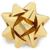 Nekupto Starfish medium metal gold 6.5 cm HX 127 01