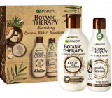 Garnier Botanic Therapy Coco Milk & Macadamia hair shampoo 250 ml + mask for dry and coarse hair 250 ml, cosmetic set