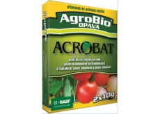 AgroBio Acrobat MZ WG plant protection product against mold of potatoes, tomatoes, onions, cucumbers in the greenhouse and vines 2 x 10 g