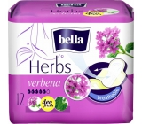 Bella Herbs Verbena intimate flavored pads with wings of 12 pieces