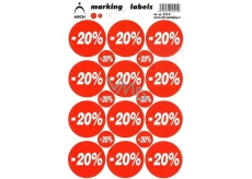 Arch Discount Labels -20%
