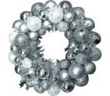 Wreath silver flask 28 cm