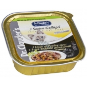 Dr. Clauders Drůbeží kousky - 3 druhy masa v omáčce 100 g