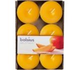 Bolsius Aromatic Maxi Exotic Mango s vůní manga vonné čajové svíčky 6 kusů
