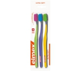 Elmex Ultra Soft toothbrush 3 pieces TRIO