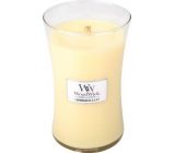 WoodWick Lemongrass & Lily - Lemongrass and Lily Scented Candle with Wood Wick and Glass Lid Large 609.5 g