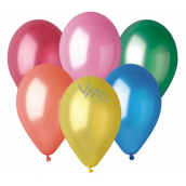Balloons Metallic mix of colors 26 cm 10 pieces