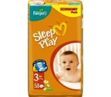 Pampers Sleep & Play 3 Midi 4 - 9 kg diapers 58 pieces