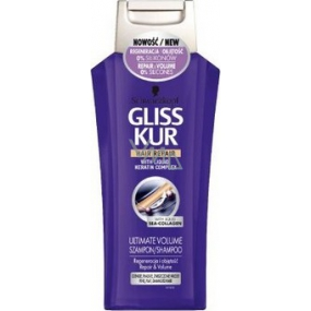 Gliss Kur Ultimate Volume Regeneration and volume shampoo for hair 400 ml