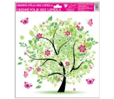 Room Decor Window foil without glue 4 seasons Spring 33.5 x 30 cm