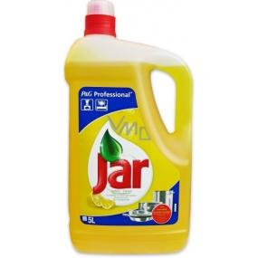 Jar Professional Lemon Hand dishwashing detergent 5 l