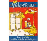 Ditipo Playing Cards For Valentine's Day Today I will do anything for you 224 x 157 mm