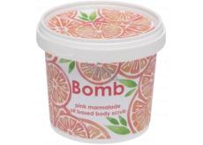 Bomb Cosmetics Ružová marmeláda Přírodní sprchový tělový peeling 365 ml