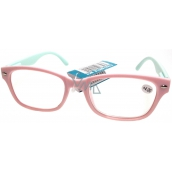 Berkeley Eyeglasses +3,0 light pink, light green side 1 piece MC2150