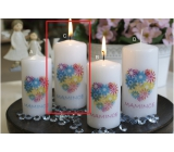 Lima S Dedicated Mummy Candle With Blue Cylinder 60 x 120 mm 1 Piece