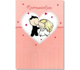 Greeting card Y Greeting card in the heart