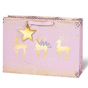 BSB Luxury gift paper bag 23 x 19 x 9 cm Christmas VDT 422 - CD