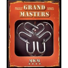 Albi Grand Masters metal puzzle - Grand Master puzzle MWM 4/4
