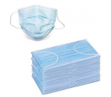 3-layer Premium non-woven disposable medical protective mask low breathing resistance 50 pieces