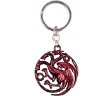Epee Merch Game of Thrones Game of Thrones - Targaryen Metal Keychain 4.5 x 6 cm