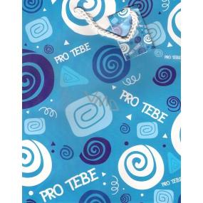 Nekupto Gift paper bag 23 x 18 x 10 cm For you 1 piece 001 GZ