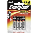 Energizer Ultra + battery AAA LR03 1.5V 6 pieces