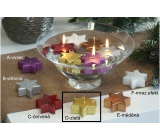 Lima Floating star candle gold 60 x 60 x 25 mm 1 piece