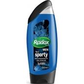 Radox Men Feel Sports Watermint & Sea Minerals 2in1 250 ml men's shower gel and shampoo