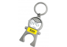 Albi Keychain with date - opener October 5 x 12 x 0,2 cm