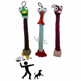 Papillon Plush Bird Handle with Sound Toy for Dogs 45cm