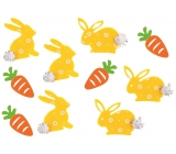 Hares and carrots with gluten 4 cm, 10 pieces in a bag