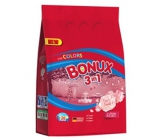 Bonux Color Radiant Rose 3in1 washing powder for colored laundry 20 doses of 1.5 kg
