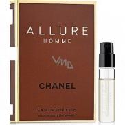 Chanel Allure Homme Eau de Toilette 1.5 ml with spray, Vial