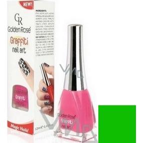 Golden Rose Graffiti Nail Art crackling nail polish shade 20 12 ml
