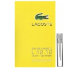 Lacoste Eau de Lacoste L.12.12 Yellow (Jaune) EdT 2 ml men's eau de toilette, Vial