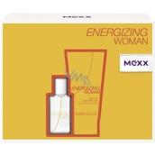 Mexx Energizing Woman Eau de Toilette 15 ml + Shower Gel 50 ml, gift set