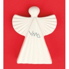 Angel ceramic figurine, serrated 9 cm
