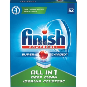 Finish All in 1 Deep Clean tablets in the dishwasher 52 pieces